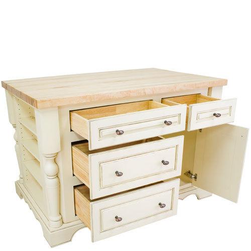 Offers Hardware Resources Hr 107103 Home Kitchen Island Antique White Jeffrey