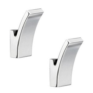 Smedbo Bath Accessories - Life Single Hook in Polished Chrome (Sold as a Pair)