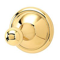 Alno Inc. Creations - Yale - Robe Hook in Unlacquered Brass