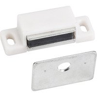 Hardware Resources - Shutter Hardware - 15# Magnetic Catch in White