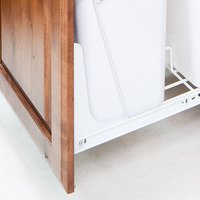 Hardware Resources - Wate Bin Systems - Cabinet Door Mounting Kit, White in White