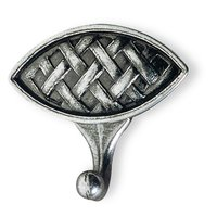 Siro Designs - Ian Smith - Towel Hook Old Silver